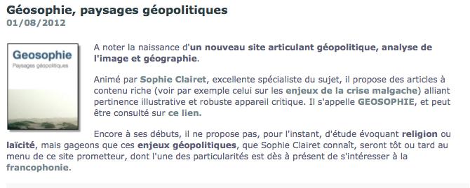 Sur le blog de Sébastien Fath, historien, chercheur au CNRS (Groupe Sociétés Religions Laïcités)