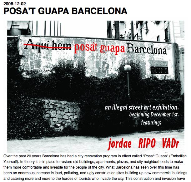 Contre campagne. Capture d'écran du site allemand blogmodart.rebelmobil.de