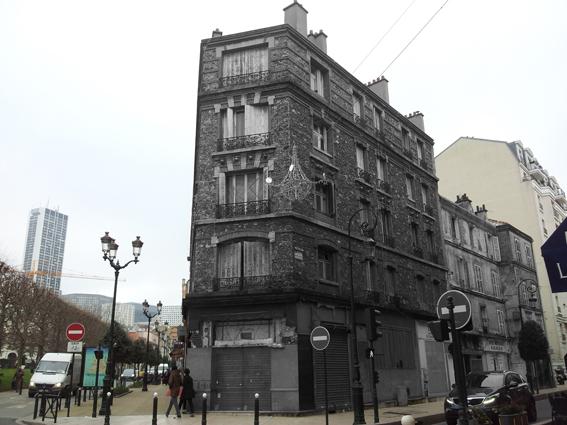 2 rue Anatole France à Puteaux. Cliché et retouche d'image, Sophie Clairet, 11 janvier 2014.