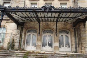 Château de Mercy (1905), symbole de la résistance de la Lorraine aujourd'hui à l'abandon. Cliché Sophie Clairet, septembre 2016.