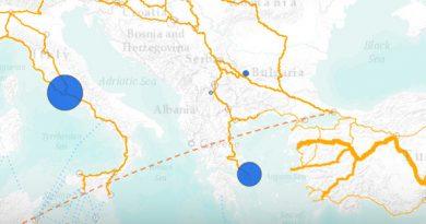 Crise des migrants/réfugiés – Arrivées en Grèce et en Italie de 2015 à mars 2017