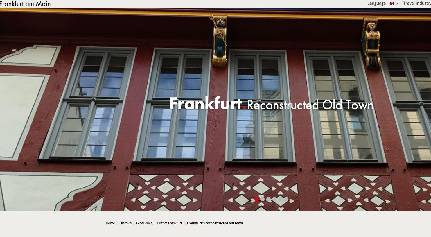 Francfort neue Altstadt