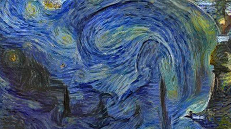 L'Europe spatiale, c'est aussi dans une IA de Van Gogh